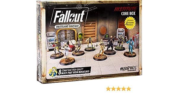 Fallout: Wasteland Warfare - Institute Core Box: Amazon.es: Modiphius: Libros en idiomas extranjeros