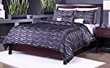 Modus Furniture NV23D5 Nevis Low Profile Storage Bed, Queen, Espresso