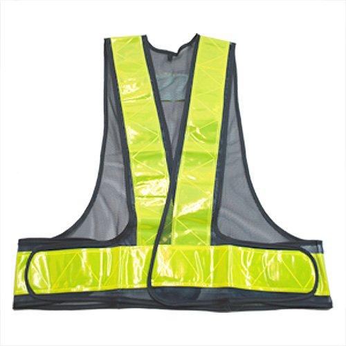 ミドリ安全 工事用品 安全用品 反射テープ付 安全ベスト ネイビー K1V