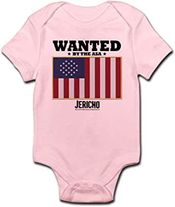 Amazon.com: CafePress Jericho: Wanted by The A.S.A. Infant ...