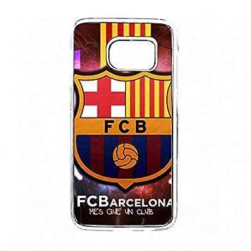 Fútbol Club Barcelona Transparente Samsung Galaxy S7 funda ...