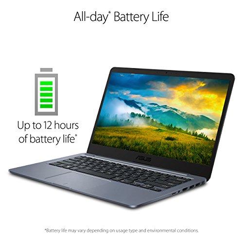 "51OexUrsqrL - ASUS E406SA-DS04 E406 14"" Laptop, Celeron N3060 (up to 2.48GHz), 4GB DDR3, 64GB eMMC, 14.0"" FHD Display, 802.11ac, Windows 10"