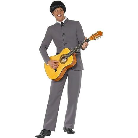 768765dd3a8fc Costume da Beatles maschera da boy band anni 60 vestito da star della musica  - M
