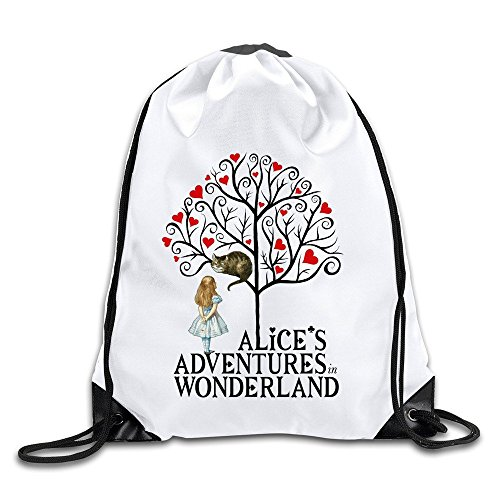 Alices Adventures In Wonderland Magic Kingdom Bags Drawstring Travel Sports Backpack Athletic - Magic Website Kingdom