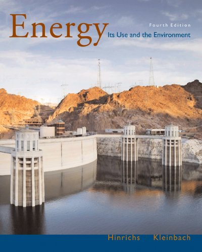 Energy: Its Use and the Environment (with InfoTrac)