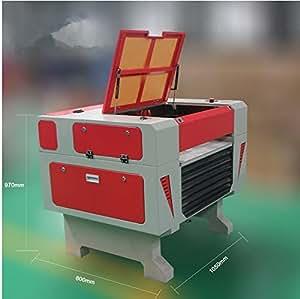 GOWE CO2láser grabado para máquina de cortar 40W Laser 400x 600mm cortador de madera
