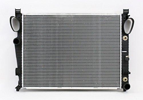 Aux Tank - Radiator - Pacific Best Inc For/Fit 2748 01-06 Mercedes-Benz S55/65/600 03-11 SL55/65 Plastic Tank Aluminum Core excl. Aux
