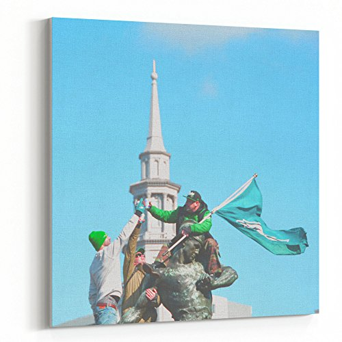 Westlake Art - Steeple Sky - 16x16 Canvas Print Wall Art - Canvas Stretched Gallery Wrap Modern Picture Photography Artwork - Ready to Hang 16x16 Inch (C48C-5139D)
