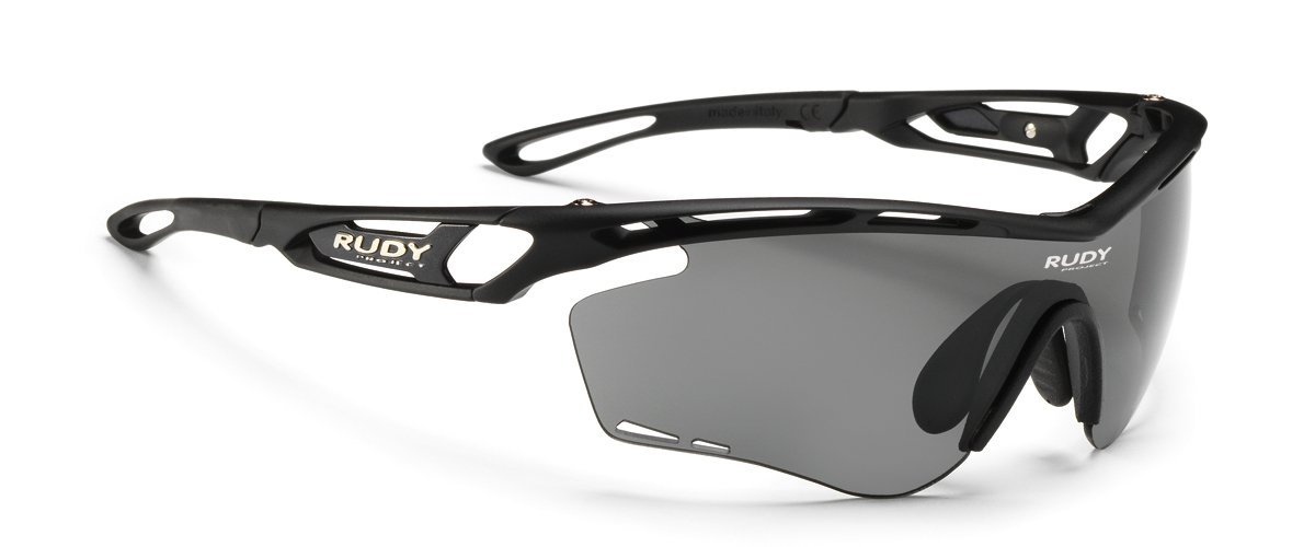 789ff357b5 Amazon.com  Rudy Project Tralyx Matte Black with Impactx-2 Photochromic  Clear to Black Lenses  Sports   Outdoors