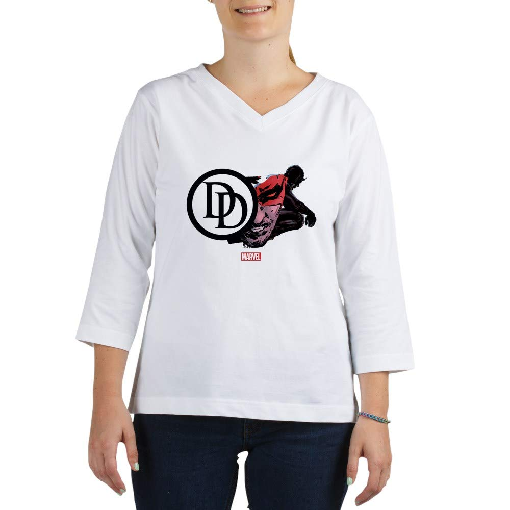 fcb8106a8d2 Amazon.com  CafePress Daredevil Icon 3 4 Sleeve T Shirt Baseball Tee   Clothing