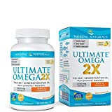 Ultimate Omega 2X Vitamin D3 – Nordic Naturals Supplement with 2150 mg Omega-3s and 1000 IU of Vitamin D, Support for Heart, Brain, Immune and Bone Health, 60 Soft Gels For Sale