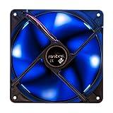 led pc fan 140 - Antec TwoCool 140mm Blue LED Cooling Fan