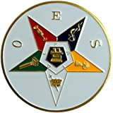 "Order of the Eastern Star 3"" Auto Emblem - The Masonic Exchange"