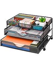$25 » Marbrasse Mesh Desk Organizer Desktop Stationary, Multi-Functional Pen Holder