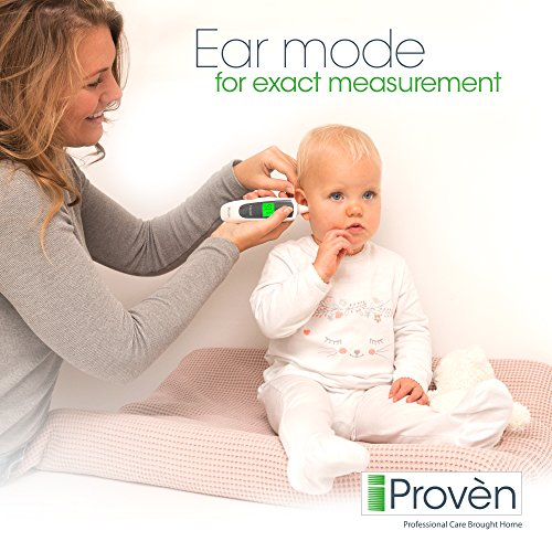 Review Clinical Ear Thermometer with