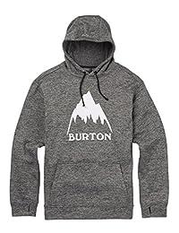 Burton Men's Oak Pullover, True Black Heather, Medium