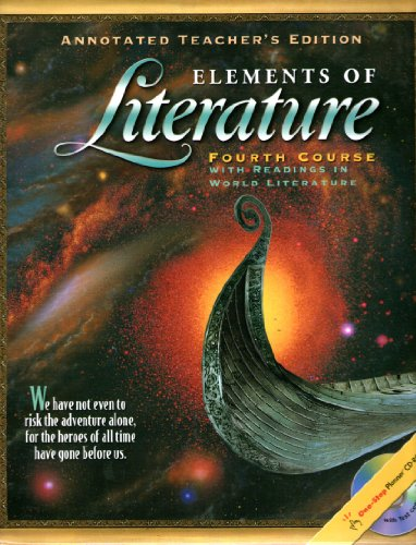 Elements of Literature, Grade 10, Annotated Teacher's Edition