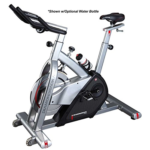 Diamondback Fitness 510Ic Adjustable Indoor Cycle with Electronic Display and Quiet Magnetic...