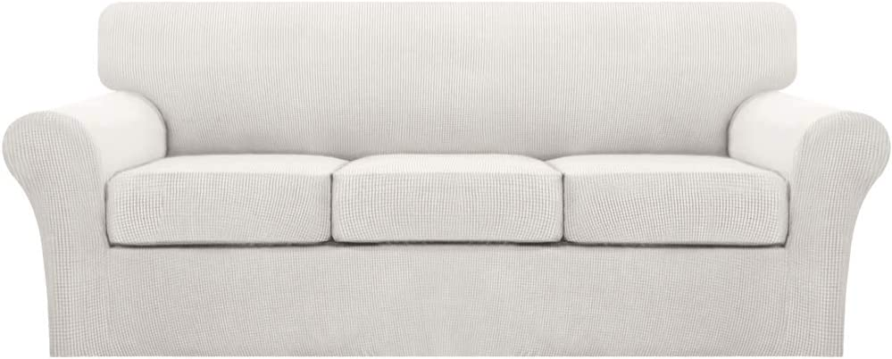 51Of12oiF2L. AC SL1000 - Best Slipcovers For Leather Sofas and Couches (Non-Slip) - ChairPicks
