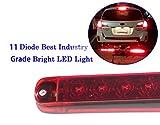 "Autosmart 2PCS Red 17"" 11 LED Trailer Light Bar"