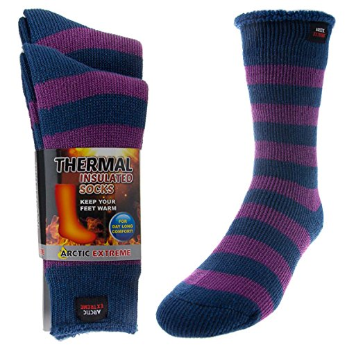 t Trapping Insulated Heated Boot Thermal Socks Pack Warm Winter Crew For Cold Weather ()