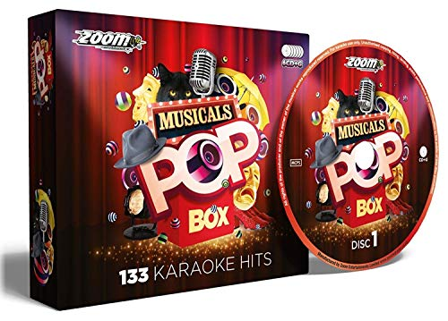 Zoom Karaoke Musicals Pop Box (Karaoke Broadway Cds)