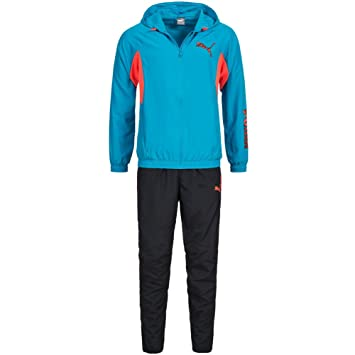 PUMA ACTIVE HD WOVEN GRAPHIC SUIT CHÁNDAL talla S: Amazon.es ...