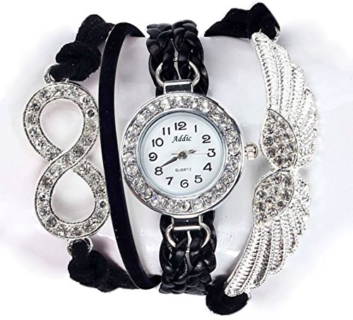 fc04b1ef9ec Buy Addic Analog White Dial Women s Watch - WW030 Online at Low Prices in  India - Amazon.in