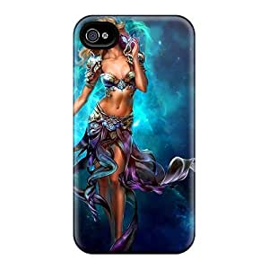 New Arrival Cases Specially Design For Iphone 4/4s (space Beauty)