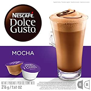 Nescafe Dolce Gusto for Nescafe Dolce Gusto Brewers, Mocha, 48 Count