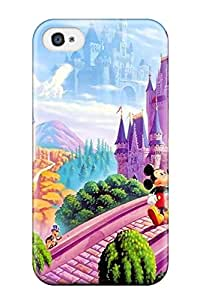Durable Disney Back Case/cover For Iphone 4/4s