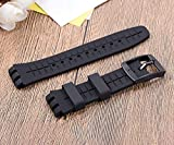 TCHH-DayUp 12 Pack Rubber Watch Band Strap Loops