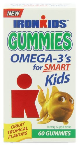 Iron Kids Gummies Omega 3, 60 Gummies