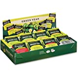Bigelow Tea Assorted Green Tea Tray Pack - Green Tea - 64 / Box