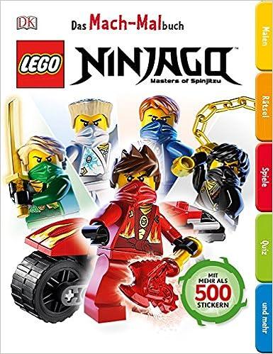 Das Mach Malbuch Lego Ninjago Amazonde Bã¼cher