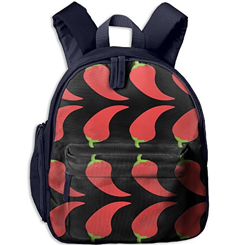 Hot Pepper School Casual Daypack For Kids Fashion Printed Bags Student School - Pepper Sunglasses Review