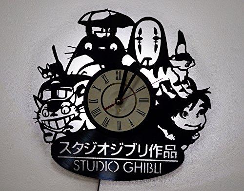 NICE STUFF ONLY Studio Ghibli Characters Wall Lights, Night Light Function, Original Kids Room Interior Decor