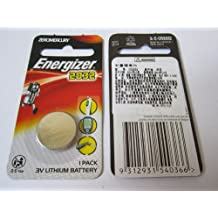 1 Pack 2032 CR2032 ECR2032 3V Lithium Energizer Coin / Button Cell Battery Batteries - BRAND NEW in Blister Pack