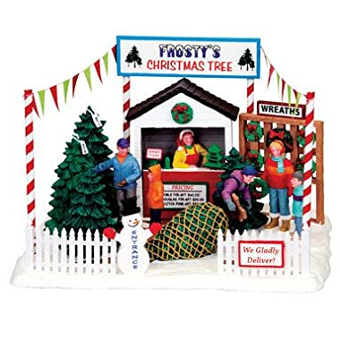 Coventry Cove Frosty's Christmas Tree Lot Table Accent