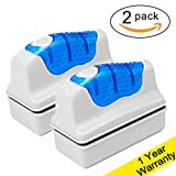 buy DaToo Aquarium Cleaner Fish Tank Glass Cleaner Algae Cleaner Scraper Magnetic Scrubber Algae Clean Brush, 2 Pcs, Size M, 1 Yr Warranty now, new 2018-2017 bestseller, review and Photo, best price $16.99