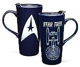 heat change travel mug - Star Trek 20oz Ceramic Heat Change Travel Mug