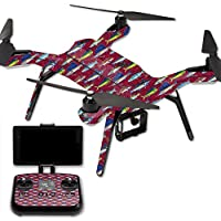 Skin For 3DR Solo Drone – Saltwater Collage | MightySkins Protective, Durable, and Unique Vinyl Decal wrap cover | Easy To Apply, Remove, and Change Styles | Made in the USA