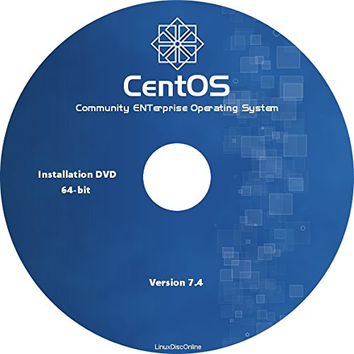 Amazon com: CentOS Linux 7 4 64-bit Full Install DVD - Latest Release