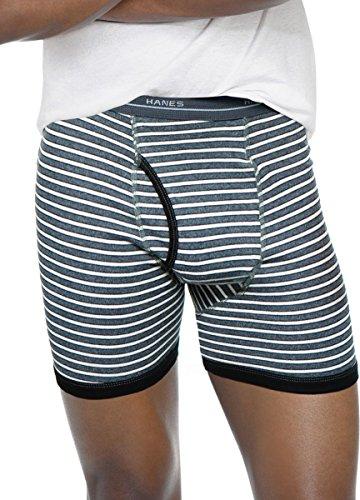 hanes-mens-striped-ringer-boxer-brief-comfort-flex-waistband-5-pack-assorted-m