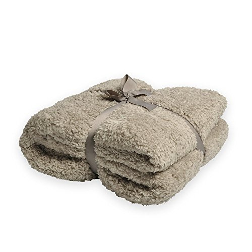 Battilo Oversized Plush Sherpa Large Throw Blanket 98