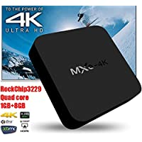 Acent Quad Core Android 5.1 Smart TV BOX MXQ-4K RK3229 4K smart tv player