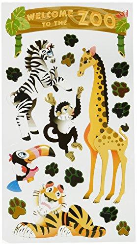 (Sticko Plus Stickers, Zoo)