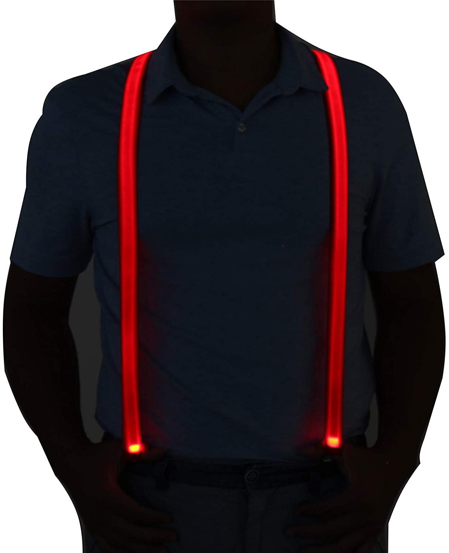 Light-Up LED Glowing Suspender for Men & Women