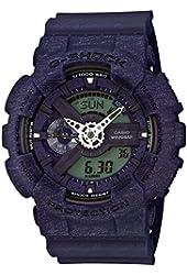 Casio G-Shock Heathered Blue Dial Resin Quartz Men's Watch GA110HT-2A