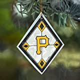 Pittsburgh Pirates Stained Glass Ornament